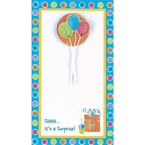 Balloon Surprise Printable Invites (8ct)