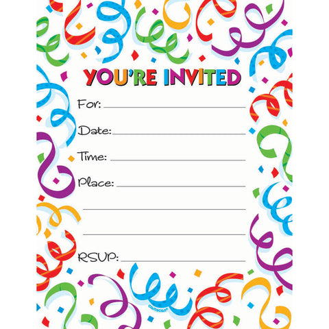 Fanfare Invites (50ct)