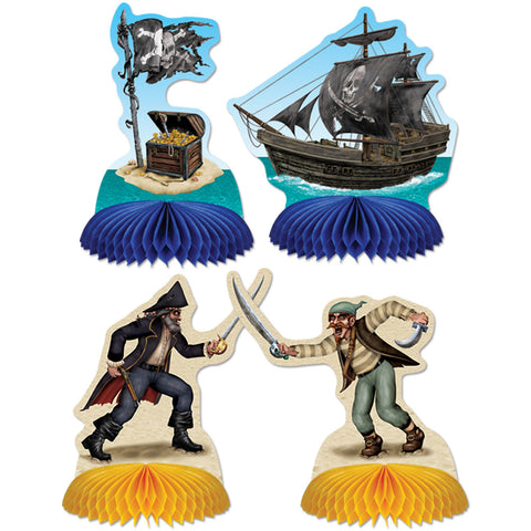 "5.5"" Pirate Mini Centerpieces (4 ct)"
