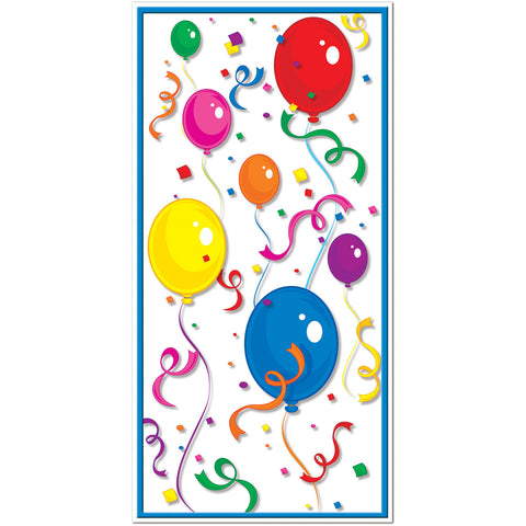 Balloons Confetti Door Cover