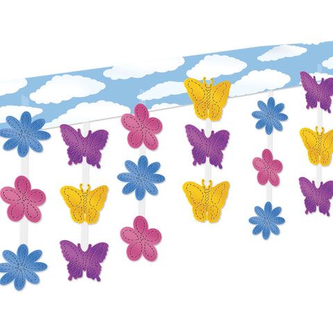 Butterfly & Flower Ceiling Décor