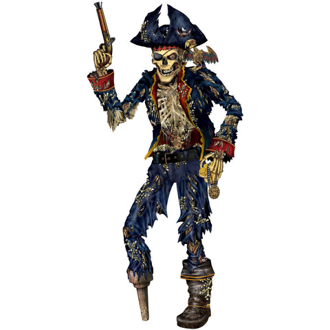 Pirate Skeleton Cutout
