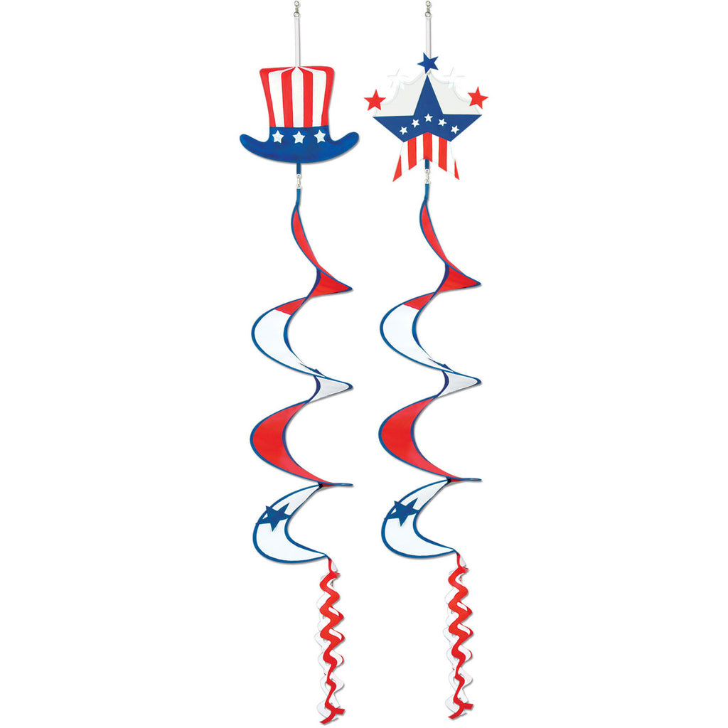 Patriotic Wind Spinners