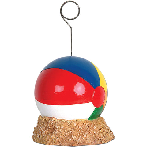 Beach Balloon Balloon/Photo Holder