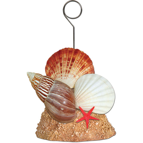 Seashell Balloon/Photo Holder