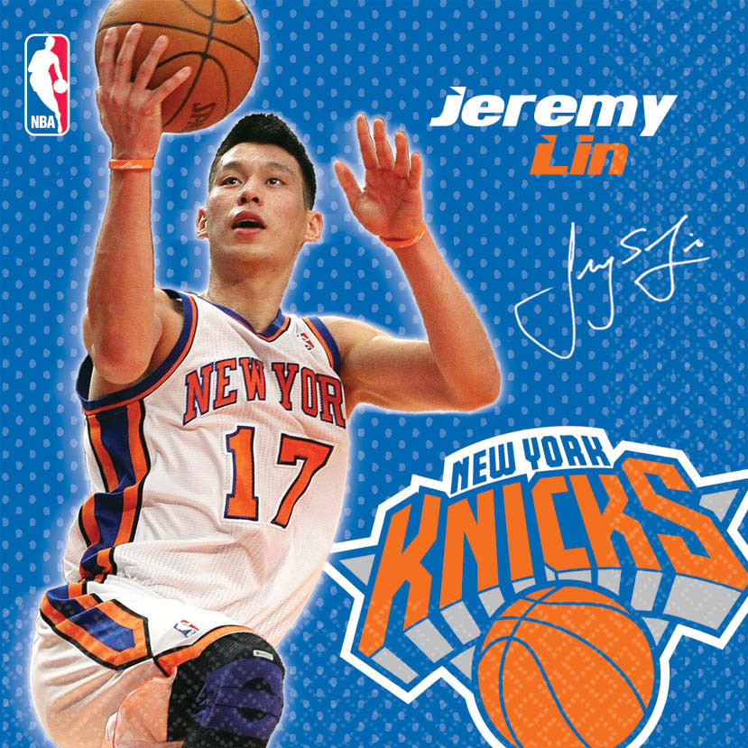 Jeremy Lin Luncheon Napkins (16ct)