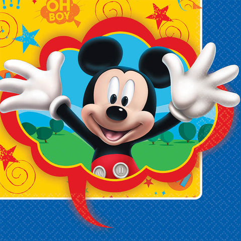 Mickey Fun and Friends Luncheon Napkins (16ct)