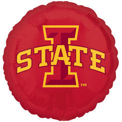 "Iowa State University 18"" Foil Balloon"