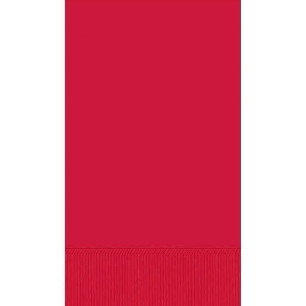 Apple Red Guest Towel Napkins (16ct)