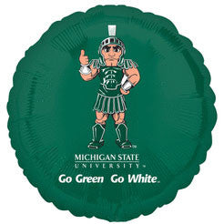 "Michigan State University 18"" Foil Balloon"