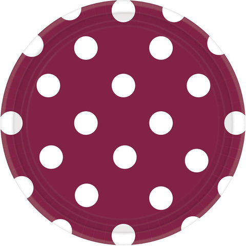 Berry Dots Dessert Plates (8ct)