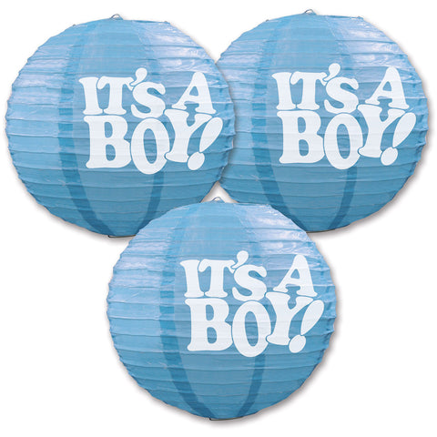 It's A Boy! Paper Lanterns