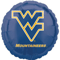 "West Virginia University 18"" Foil Balloon"
