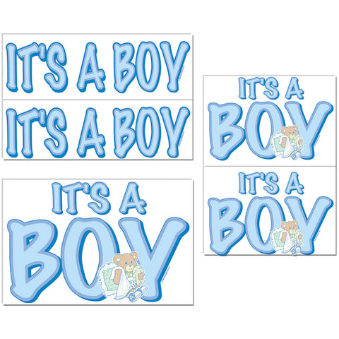 Its a Boy Auto-Cling
