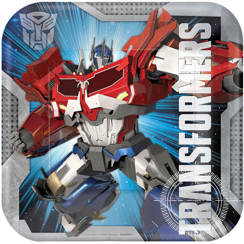 Transformers Core Dinner Plates (8ct)