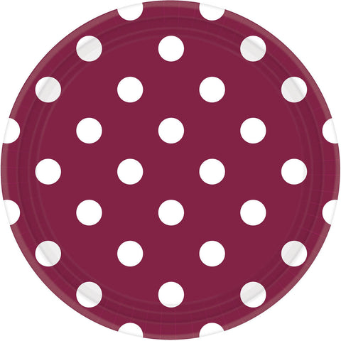 Berry Dots Dinner Plates (8ct)