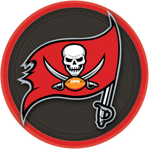 Tampa Bay Buccaneers Dinner Plates (8ct)