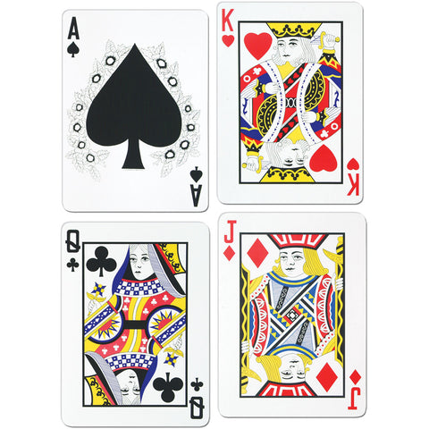 "4-18"" Playing Cards"
