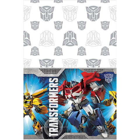 Transformers Plastic Tablecover