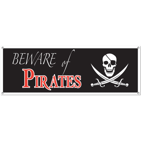 Pirate Sign Banner
