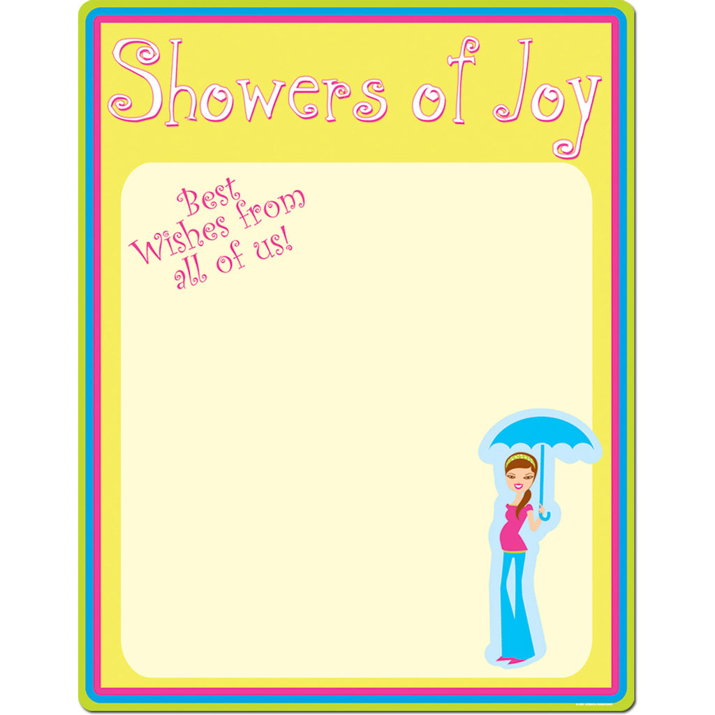 Shower Of Joys Sign In Sheet
