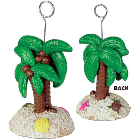 Palm Tree Balloon/Photo Holder