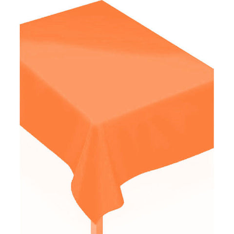Orange Peel Flannel-Backed Rectangle Vinyl Tablecover