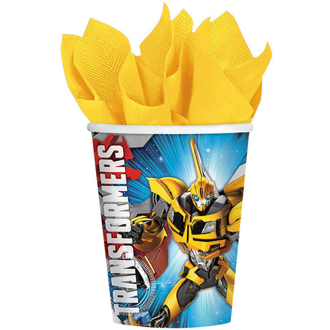Transformers Core 9oz Paper Cups (8ct)