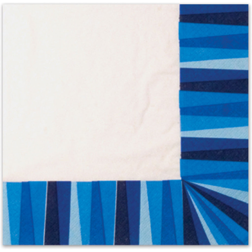 Blue Stripe Luncheon Napkins