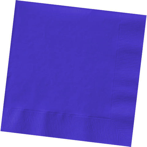 New Purple Beverage Napkins (125ct)