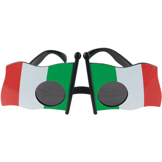 Italian Flag Glasses