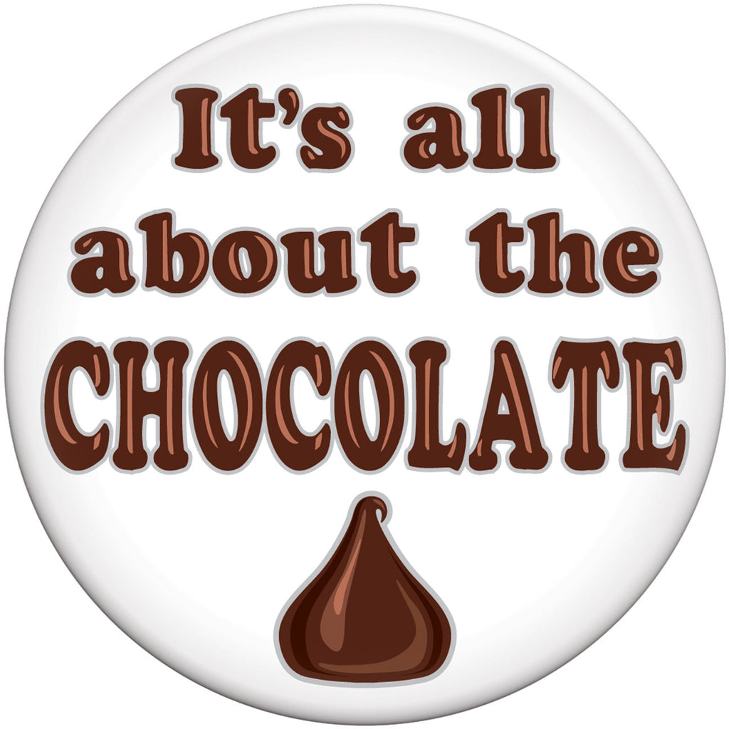 All About Chocolate Button