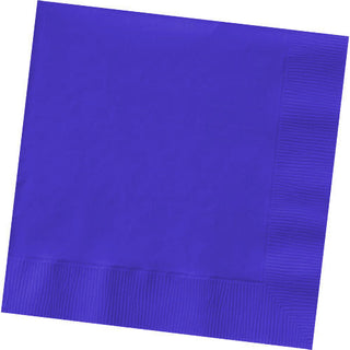 New Purple Big Party Pack Luncheon Napkin 2 PLY 125 ct