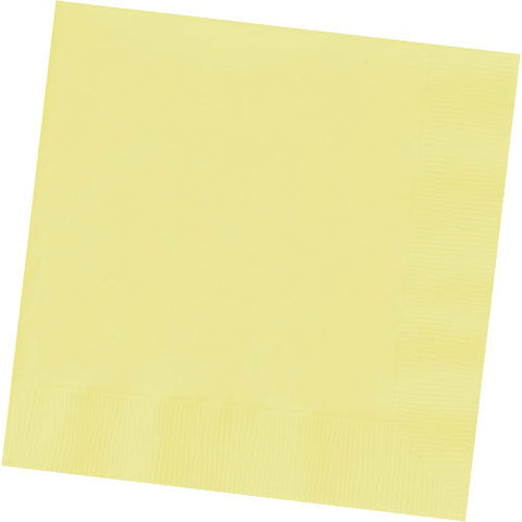 Light Yellow Dinner Napkins (50ct)