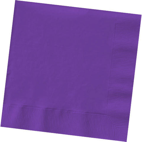 Purple Dinner Napkins (50ct)