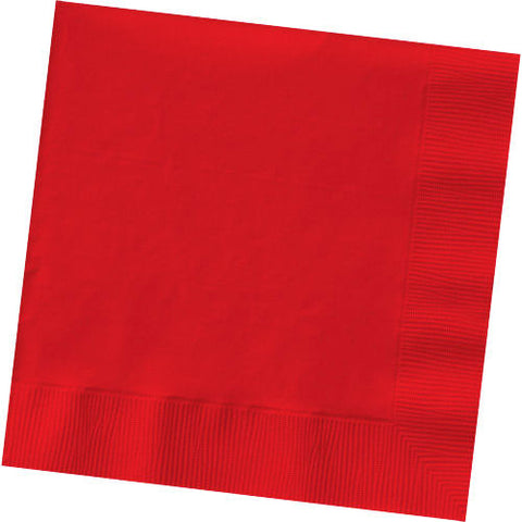 Apple Red Dinner Napkins (50ct)