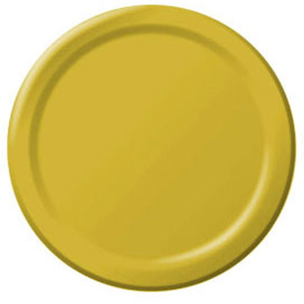 Yellow Sunshine Paper Dessert Plates (50ct)