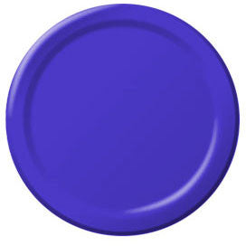 New Purple Paper Dessert Plates (50ct)