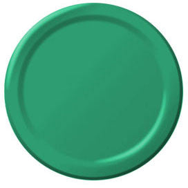 Festive Green Big Party Pack Paper Plate 9