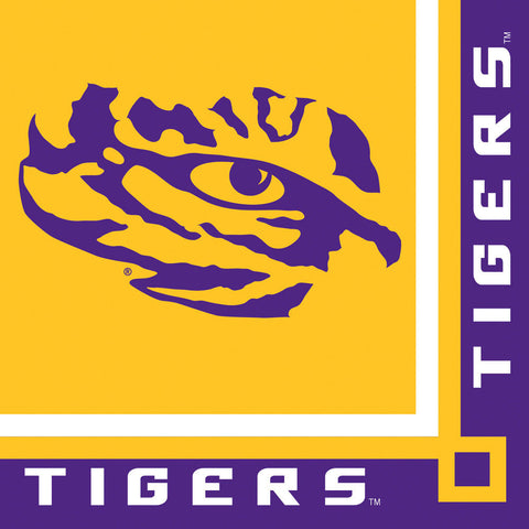 LSU Beverage Napkins (20ct)