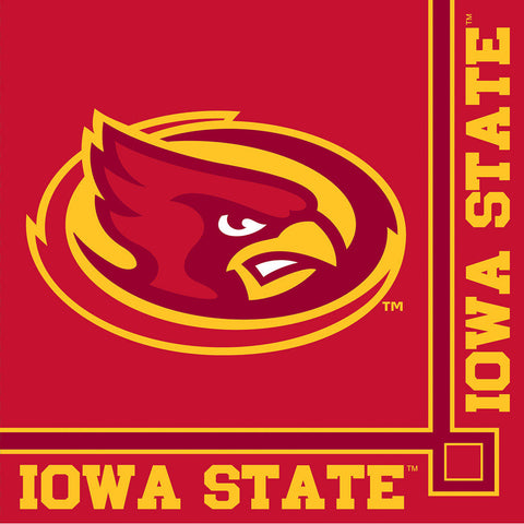 Iowa State University Beverage Napkins (20ct)