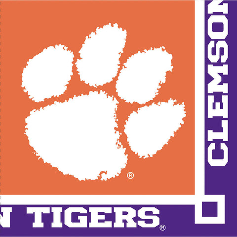 Clemson University Beverage Napkins (20ct)