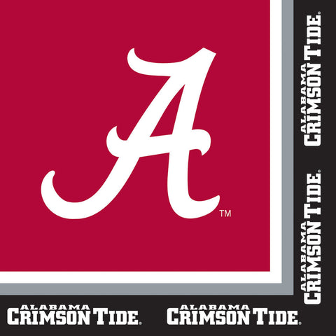 University of Alabama Luncheon Napkins (20ct)