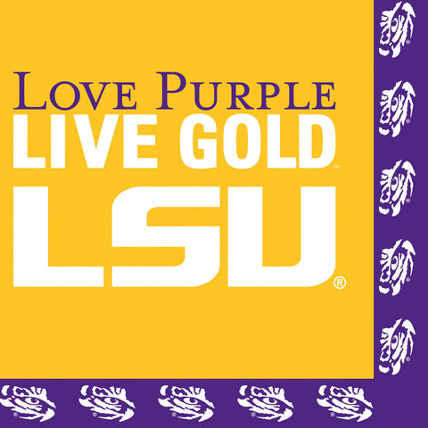 LSU Luncheon Napkins (20ct)