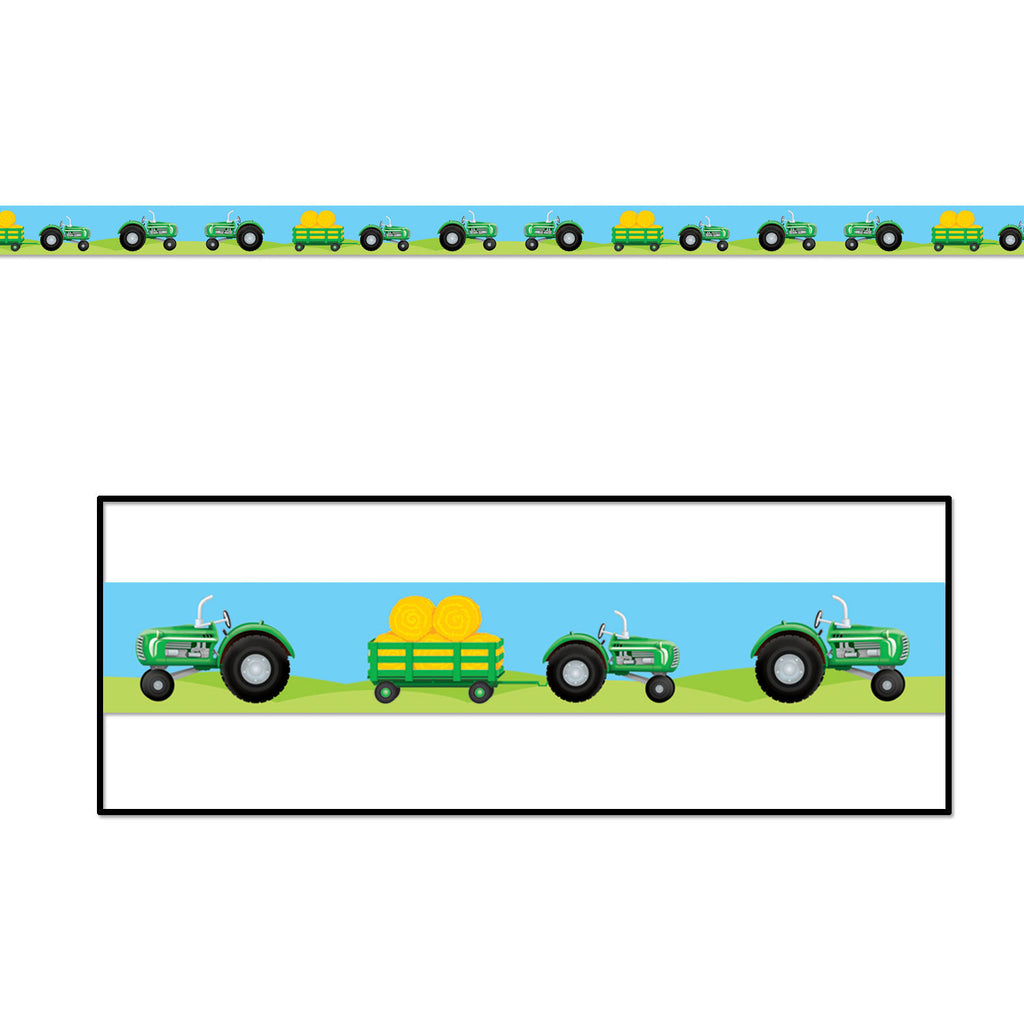 Tractor Party Tape