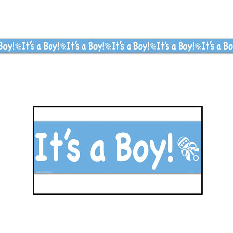Its A Boy Party Tape (1 ct)