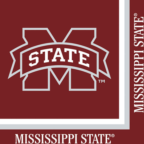 Mississippi State Luncheon Napkins (20ct)