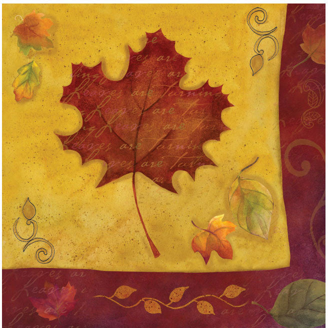 Autumn Reverie Luncheon Napkins (16ct)