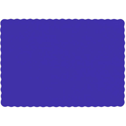 New Purple Paper Placemats (50ct)