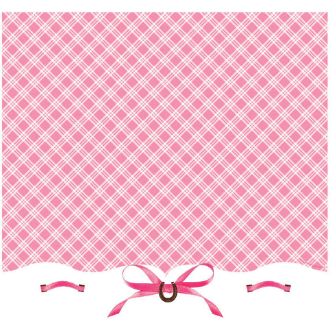 Heart My Horse Plastic Tablecover